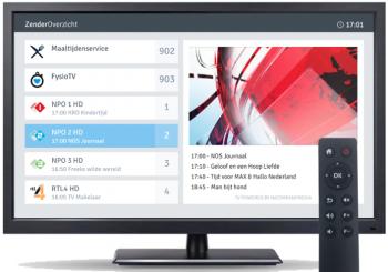 Televisie voor de zakelijke markt
